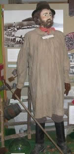 Shepherd on Display at the Museum