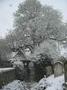 Snow at the Lychgate